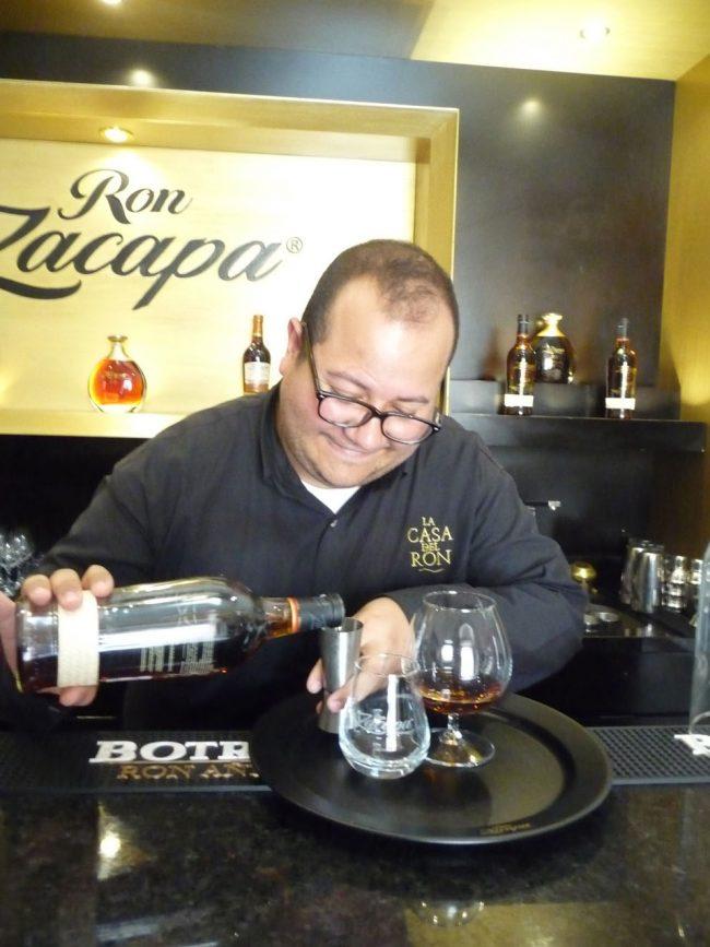 Ron Zacapa, expensive stuff