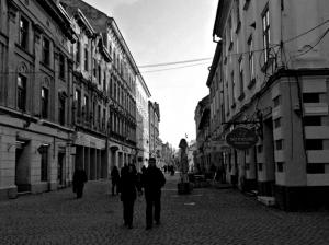 A Street in Europe
