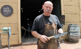Knife Maker Barry Gardner