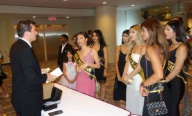 Backstage at the 2017 Miss World Canada Beauty Pageant