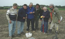 "Metal detecting isn't a solitary ""sport"". It brings people together."