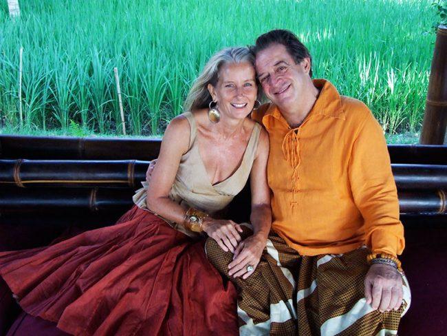 John Hardy and his wife, Cynthia