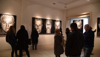 "Exhibition ""Personal – Portraits of War Victims"" of Bosnian-Herzegovinian photographer Velija Hasanbegović"
