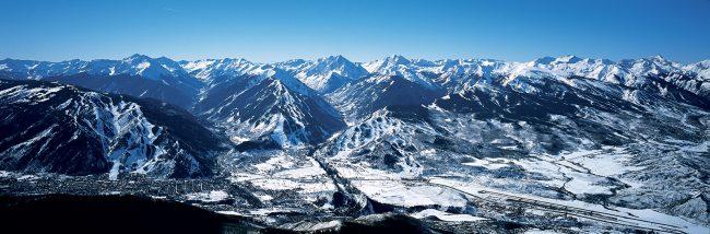 Aspen Snowmass - Aerial Photograph