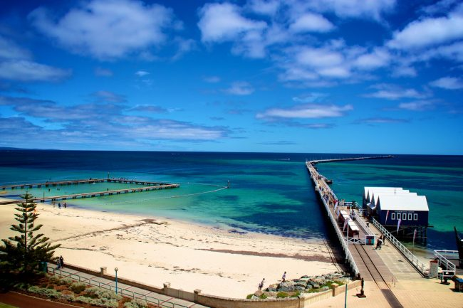 Busselton Jetty from lighthouse