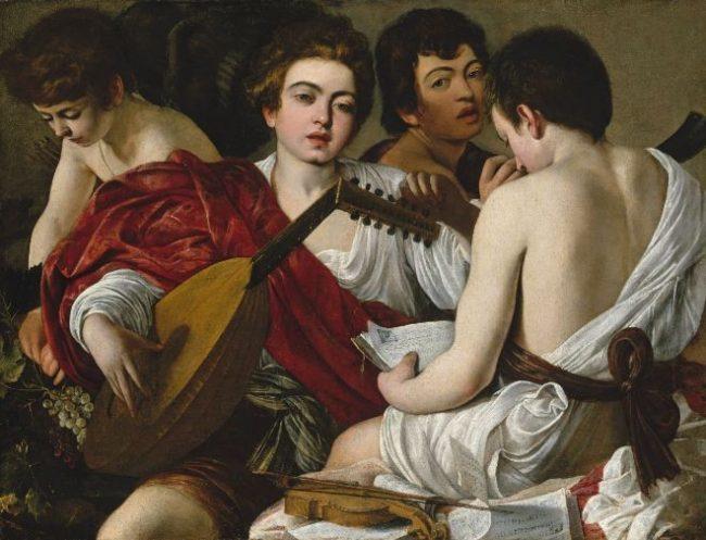 Caravaggio: The Musicians