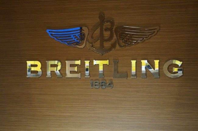 The iconic Breitling logo