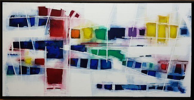 """Dream Catcher 24x48""""  Acrylic on Canvas (Framed)"""