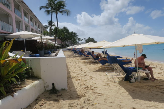 Fairmont's Beachfront Location in Barbados