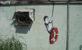 Banksy Swinger in New Orleans